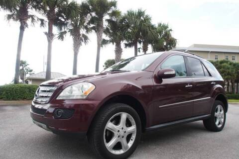 2008 Mercedes-Benz M-Class for sale at Gulf Financial Solutions Inc DBA GFS Autos in Panama City Beach FL