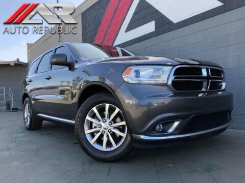 2017 Dodge Durango for sale at Auto Republic Fullerton in Fullerton CA