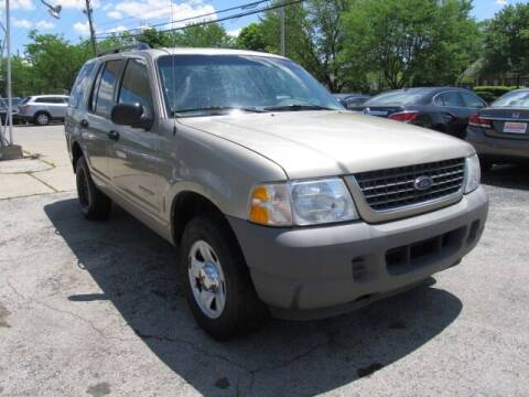2002 Ford Explorer for sale at St. Mary Auto Sales in Hilliard OH