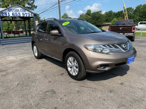 2013 Nissan Murano for sale at QUALITY PREOWNED AUTO in Houston TX