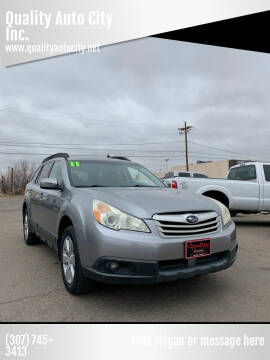 2011 Subaru Outback for sale at Quality Auto City Inc. in Laramie WY