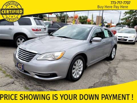 2014 Chrysler 200 for sale at AutoBank in Chicago IL