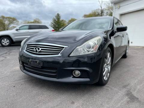 2012 Infiniti G37 Sedan for sale at SOUTH SHORE AUTO GALLERY, INC. in Abington MA