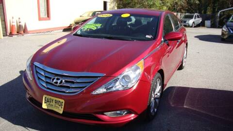 2013 Hyundai Sonata for sale at Easy Ride Auto Sales Inc in Chester VA