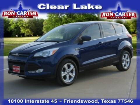 2016 Ford Escape for sale at Ron Carter  Clear Lake Used Cars in Houston TX