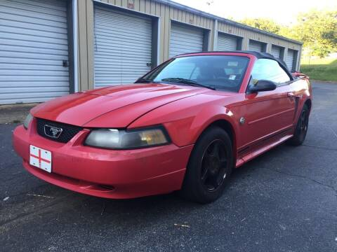 2004 Ford Mustang for sale at CAR STOP INC in Duluth GA