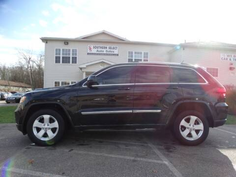 2012 Jeep Grand Cherokee for sale at SOUTHERN SELECT AUTO SALES in Medina OH
