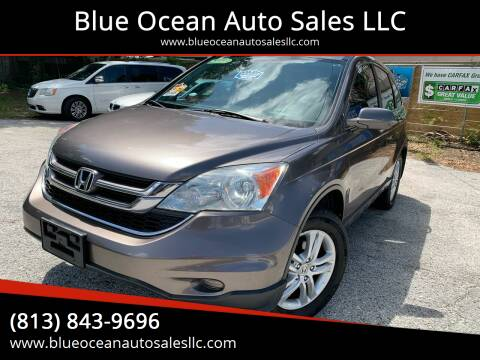 2010 Honda CR-V for sale at Blue Ocean Auto Sales LLC in Tampa FL