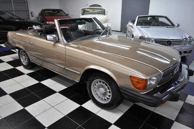1982 Mercedes-Benz 380-Class for sale at Podium Auto Sales Inc in Pompano Beach FL