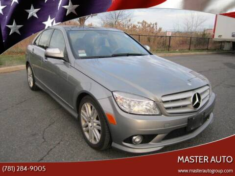 2008 Mercedes-Benz C-Class for sale at Master Auto in Revere MA