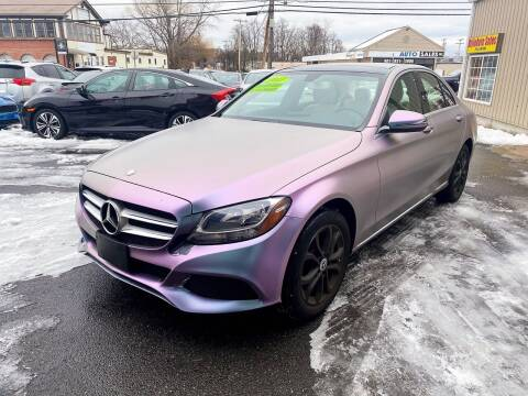 2017 Mercedes-Benz C-Class for sale at Dijie Auto Sale and Service Co. in Johnston RI