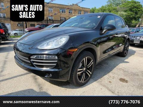 2013 Porsche Cayenne for sale at SAM'S AUTO SALES in Chicago IL