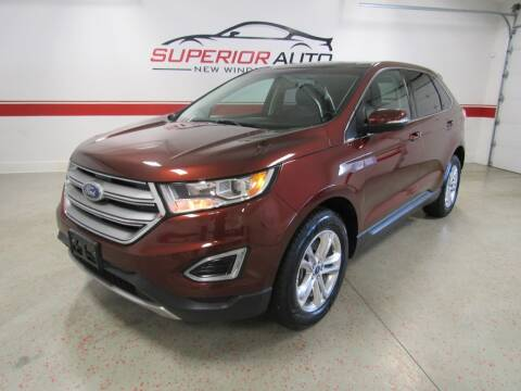 2015 Ford Edge for sale at Superior Auto Sales in New Windsor NY
