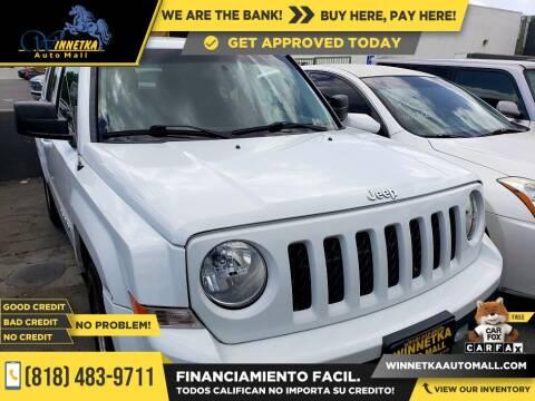 2016 Jeep Patriot for sale at Winnetka Auto Mall in Winnetka CA