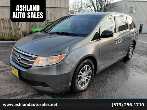 2011 Honda Odyssey for sale at ASHLAND AUTO SALES in Columbia MO