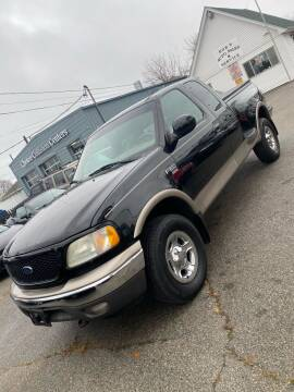 2002 Ford F-150 for sale at Bob Luongo's Auto Sales in Fall River MA