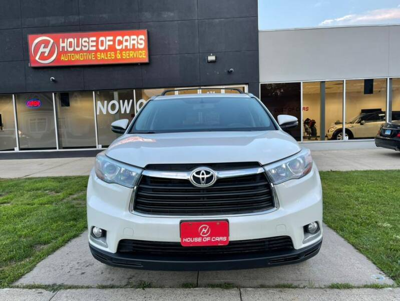 2015 Toyota Highlander for sale at HOUSE OF CARS CT in Meriden CT