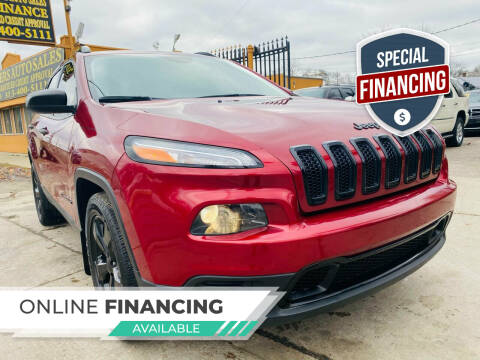 2016 Jeep Cherokee for sale at 3 Brothers Auto Sales Inc in Detroit MI