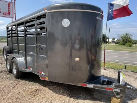"2021 DELCO -Livestock 6'6"" X 16' X 6 for sale at LJD Sales in Lampasas TX"