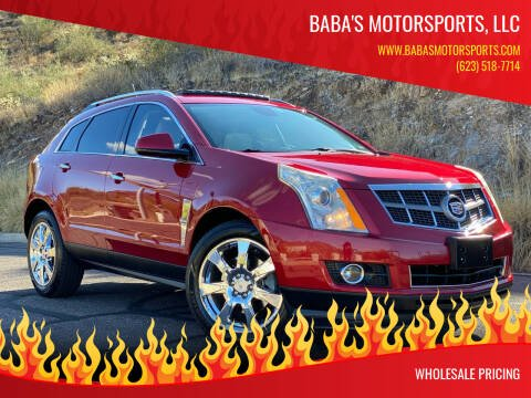 2010 Cadillac SRX for sale at Baba's Motorsports, LLC in Phoenix AZ
