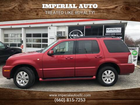 2006 Mercury Mountaineer for sale at Imperial Auto of Marshall in Marshall MO