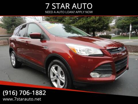 2014 Ford Escape for sale at 7 STAR AUTO in Sacramento CA