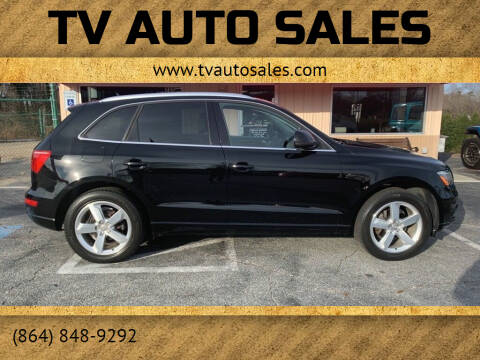 2012 Audi Q5 for sale at TV Auto Sales in Greer SC