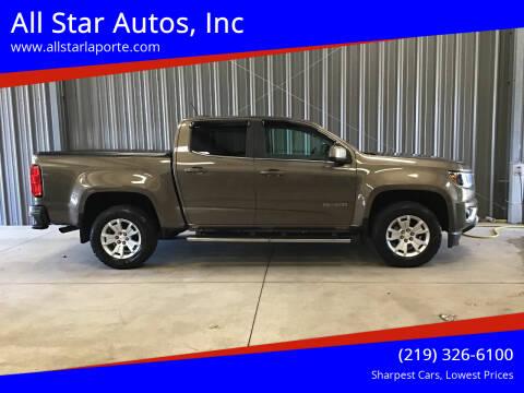 2015 Chevrolet Colorado for sale at All Star Autos, Inc in La Porte IN