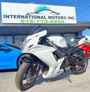 2011 Suzuki GSX-R600 for sale at International Motors Inc. in Nashville TN