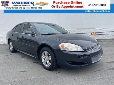 2014 Chevrolet Impala Limited for sale at WALKER CHEVROLET in Franklin TN