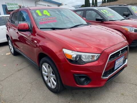 2014 Mitsubishi Outlander Sport for sale at CAR GENERATION CENTER, INC. in Los Angeles CA