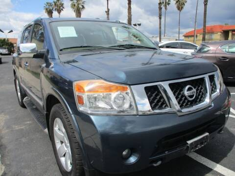 2014 Nissan Armada for sale at F & A Car Sales Inc in Ontario CA
