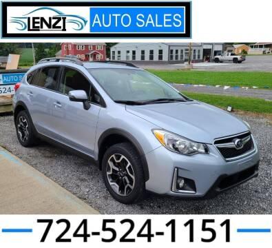2016 Subaru Crosstrek for sale at LENZI AUTO SALES in Sarver PA