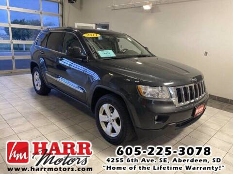 2011 Jeep Grand Cherokee for sale at Harr's Redfield Ford in Redfield SD