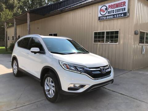 2016 Honda CR-V for sale at Premier Auto Center in Cartersville GA
