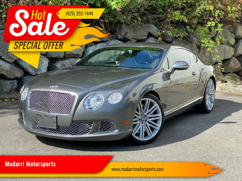 2013 Bentley Continental for sale in Kirkland, WA