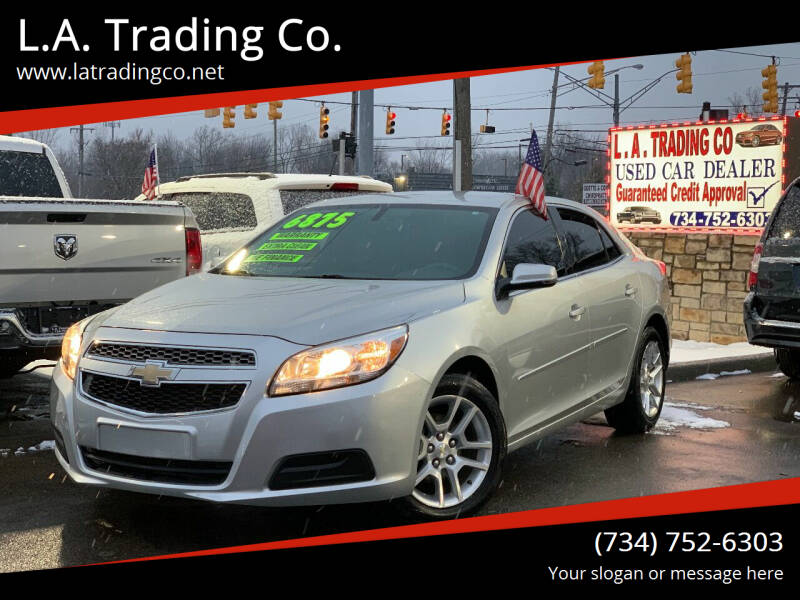 2013 Chevrolet Malibu for sale at L.A. Trading Co. in Woodhaven MI