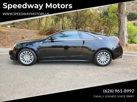 2012 Cadillac CTS for sale at Speedway Motors in Glendora CA