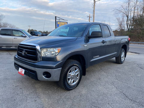 2010 Toyota Tundra for sale at Dubes Auto Sales in Lewiston ME