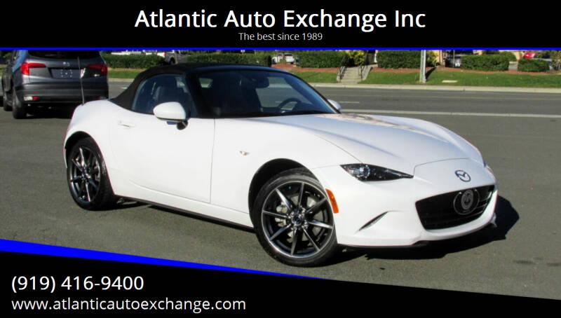 2016 Mazda MX-5 Miata for sale at Atlantic Auto Exchange Inc in Durham NC