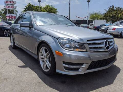 2013 Mercedes-Benz C-Class for sale at Convoy Motors LLC in National City CA