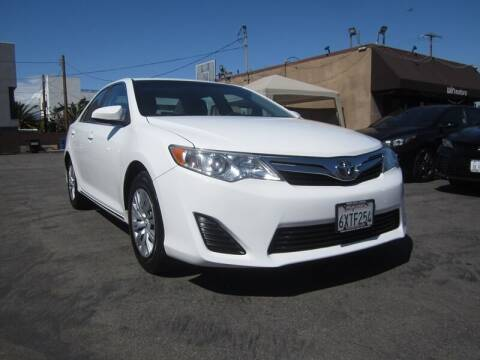 2012 Toyota Camry for sale at Win Motors Inc. in Los Angeles CA