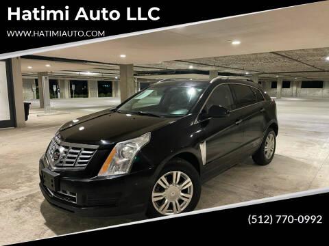 2013 Cadillac SRX for sale at Hatimi Auto LLC in Austin TX