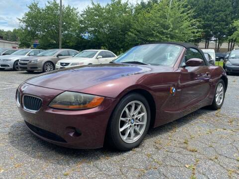 2003 BMW Z4 for sale at Car Online in Roswell GA