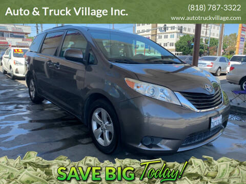 2013 Toyota Sienna for sale at Auto & Truck Village Inc. in Van Nuys CA