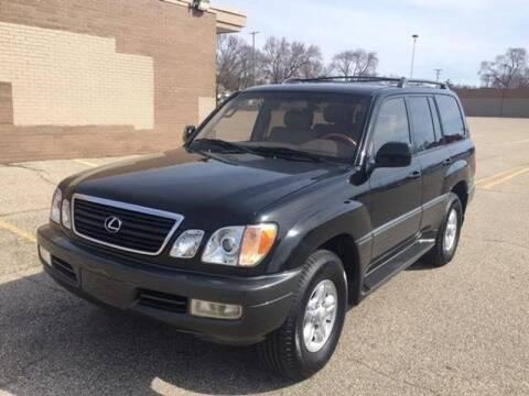 2000 Lexus LX 470 for sale at Elvis Auto Sales LLC in Grand Rapids MI