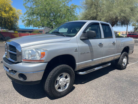 2006 Dodge Ram Pickup 2500 for sale at Tucson Auto Sales in Tucson AZ