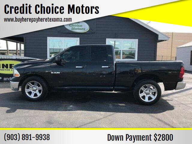 2010 Dodge Ram Pickup 1500 for sale at Credit Choice Motors in Sherman TX