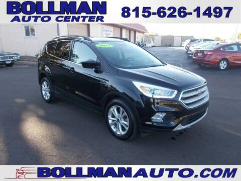 2017 Ford Escape for sale at Bollman Auto Center in Rock Falls IL