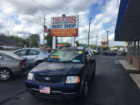 2006 Ford Freestyle for sale at Deckers Auto Sales Inc in Fayetteville NC